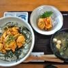 はまなす亭@種市 特製生ウニ丼+天然ほや刺