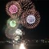 琵琶湖マリオット宿泊の後、琵琶湖花火大会🎶
