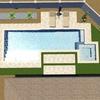 アメリカでプールを作る、プール付きの家に住む。