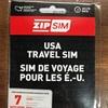 【ZIP SIM (READY SIM)】ハワイで簡単設定で使えるSIM【ハワイ SIM】