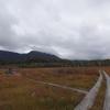 10月の尾瀬 1日目は燧ケ岳、見晴新道の下りに蒼然