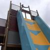 彩都なないろ公園の超急なダブルフリーフォール滑り台はほぼ垂直!最大傾斜80度、高さ5.5mの鬼仕様だが大阪平野の景色は最高!【大阪府箕面市】