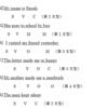 【テスト対策ばっちり!文法確認テスト①】文の構成