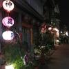 台南 夜の神農街です