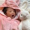 長女誕生、育児日記を開始。