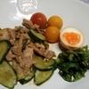 きゅうりの保存と活用~干しきゅうりと豚肉の生姜焼き風炒め