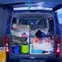 ハイエースの荷台に車中泊用の簡易ベッドを作ってみた!