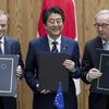 日本とEUが関税撤廃、トランプの保護主義にノー