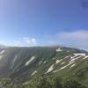 2017.8.5-6 朳差岳-門内岳を稜線ハイク 2DAYS DAY2(朳差小屋〜門内岳〜奥胎内)
