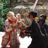 アーティストハウス(クローン・バーンルアン水上マーケット)へ仮面劇を観に行こう!
