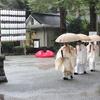 祖霊社の合祀祭並びに例祭が斎行されました。