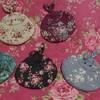 可愛い手作り布小物~薔薇模様のウサギちゃん達