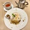 有楽町「カフェ&ブックス ビブリオテーク 東京・有楽町」にて、9月限定のパンケーキを食べた
