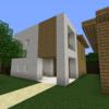 【Minecraft】モダンな住宅を作る【コンパクトな街をつくるよ33】
