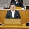 県民の具体席で切実な要望を取り上げた吉田英策県議の質問