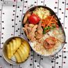 #624 豚細切れ肉の唐揚げ弁当