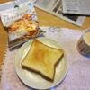キムチ鍋の残りスープを使って。
