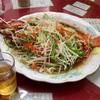 中区錦町 マリンハイツの「百鶴楼」でアカムツの姿煮?、鍋など