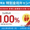 NEOBANKの10%定期預金をやってみた