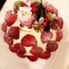 果実園リーベルのクリスマスケーキ「あまおうズコット」