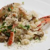 渡り蟹とイカのリゾットのレシピ