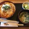 カツ丼と味噌汁とカツオ