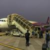 K67102 REP-PNH Economy その1 Cambodia Angkor Air早朝プノンペン行