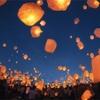 美しい光景スポット!1,000個のランタンが一斉に夜空に放たれる光景は圧巻!