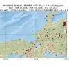 2015年09月15日 23時36分 福井県沖でM3.8の地震
