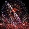 【京都のお盆】【写真】今日は去年の五山送り火と勝毎花火大会