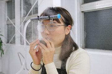「メガネを曇らせるマシーン」を作って冬をホカホカに過ごす