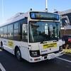 中型自動運転バスの体験試乗 北九州空港~朽網駅