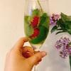 【お家カクテル】オンライン飲み会と紫陽花とわたし