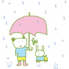 雨降り。。。