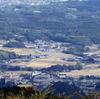 青山高原から我が町を望む