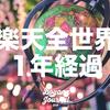 楽天・全世界株式インデックス・ファンド(VT)の1年のリターンは良好