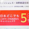 10月から消費税増税! でも、 キャッシュレスカードなら5パーセント還元!! 楽天なら最大8パーセント還元!!