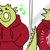 Suzuri(スズリ)のパーカーの着心地、サイズ感、プリント具合を紹介してみた!