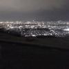 夜の大文字山
