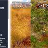 RUSTIC Grass 地形を彩るリアルな草が80種類!四季に対応した「草」のテクスチャ素材パック