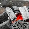 BBQで使った炭は自然には還りませんからー!残念!なんて言ってる場合ではない