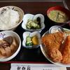 地元の人気食堂でミックスフライをがっつり食べた @小美玉 お食事処 はるみ