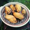 牡蠣とししゃもの土鍋スモーク