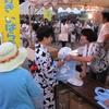 結城市ネットワーカー等連絡協議会が「山川豊年おどり」に参加しました。(平成27年8月22日)