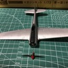 荒野のコトブキ飛行隊 マガジンキット 1/72 隼一型(キリエ機)  製作記 PART2