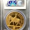 イギリス2002年ゴールデンジュビリー5ポンド金貨 PCGS PR70DCAM 最高鑑定品