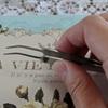 【買ってよかったもの】ダイソーさん発「ネイルアート用ピンセット」はクラフトにもぴったりのアイテムでした。