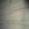 樟のダイニングテーブル その10 - 楔止めホゾ加工の続き&脚部の仕上げ