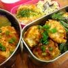 【1食153円】里芋入り豆腐鶏つくね弁当レシピ ~コスパ良い鶏胸肉のつくねにおせちの里芋白煮を中に仕込みました~【パパ手作り弁当】