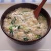 七草粥 冷凍ストック食材と玉子でプラスα